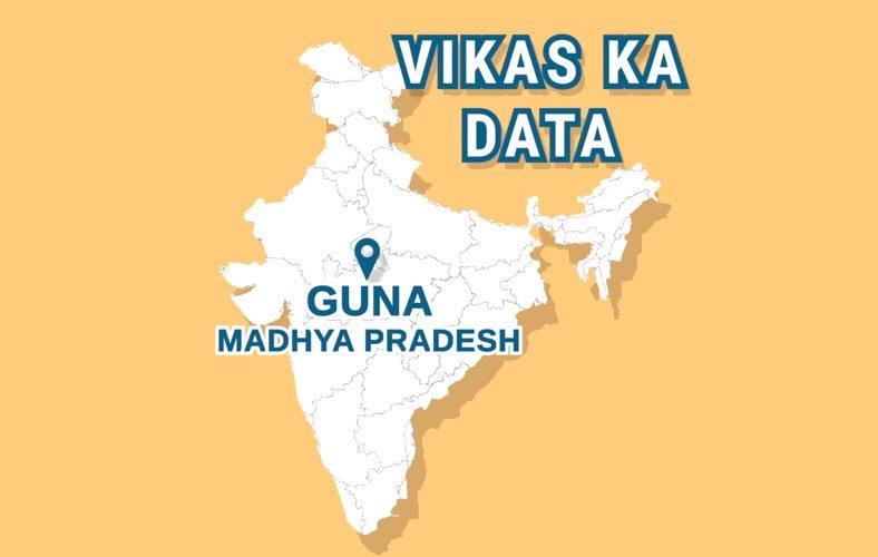 Vikas Ka Data: Guna, Madhya Pradesh