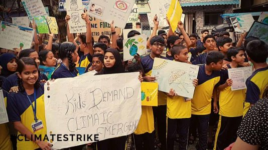 STUDENTS STRIKE FOR CLIMATE